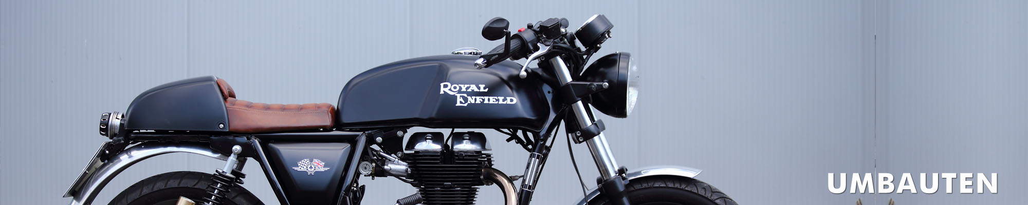 Royal Enfield Umbauten Caferacer